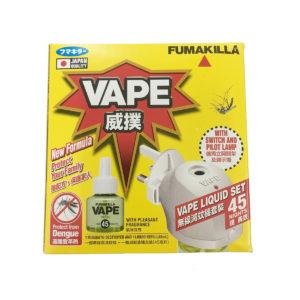 VAPE Mosquito Destroyer (Cordless) + 45 Night Liquid