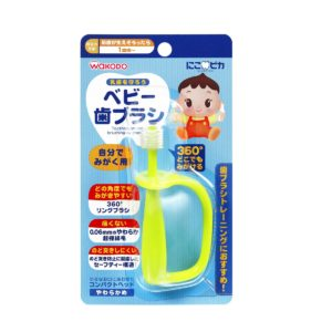 360∘ Toothbrush with easy-grip handle for Kids