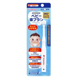 360∘ Toothbrush for Baby (Finishing by Parents)